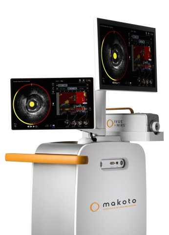 Infraredx announces the launch of the new Makoto™ Intravascular Imaging System and Dualpro™ IVUS+NIRS Catheter in Japan (Photo: Business Wire)