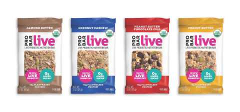 New PROBAR live Probiotic Nutrition Bars (Photo: Business Wire)