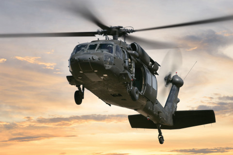 The self-contained, all weather, day/night navigation system enables the Army's Black Hawk helicopter pilots to view real-time flight plan data. (Photo: BAE Systems)