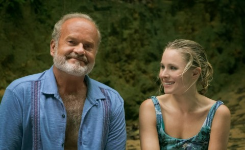 Kristen Bell (right) and Kelsey Grammer (left) star in the Netflix Original Film, Like Father (Aug 3) (Photo: Business Wire)