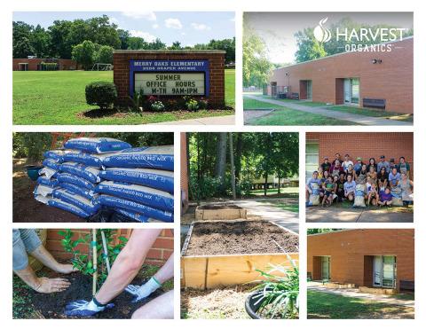 Harvest Organics Grows Gardening Curiosity at Local School (Photo: Business Wire)