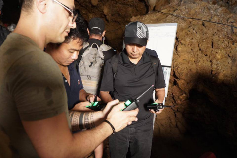 Mouser Electronics talks to Uzi Hanuni of Maxtech Networks about the company's communications technology used in the Thai cave rescue of July 2018. (Photo: Business Wire)