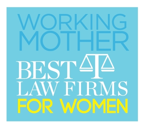 "Dorsey & Whitney was named today by Working Mother magazine as one of the 2018 ""Best Law Firms for Women,"" for its use of best practices in retaining and promoting women lawyers. (Logo: Working Mother)"