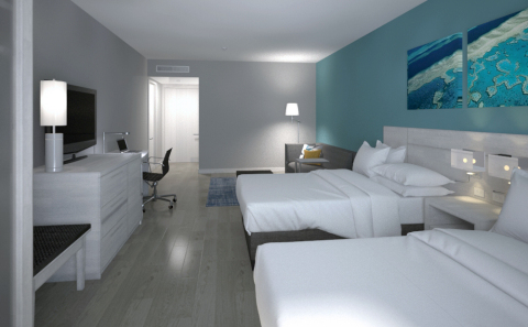 Hyatt Place San Pedro Sula Queen Room (Photo: Business Wire)