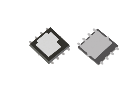 "Toshiba: A 40V N-channel power MOSFET ""TPWR7904PB"" for automotive applications in a new package featuring double-sided cooling for improved heat dissipation. (Photo: Business Wire)"