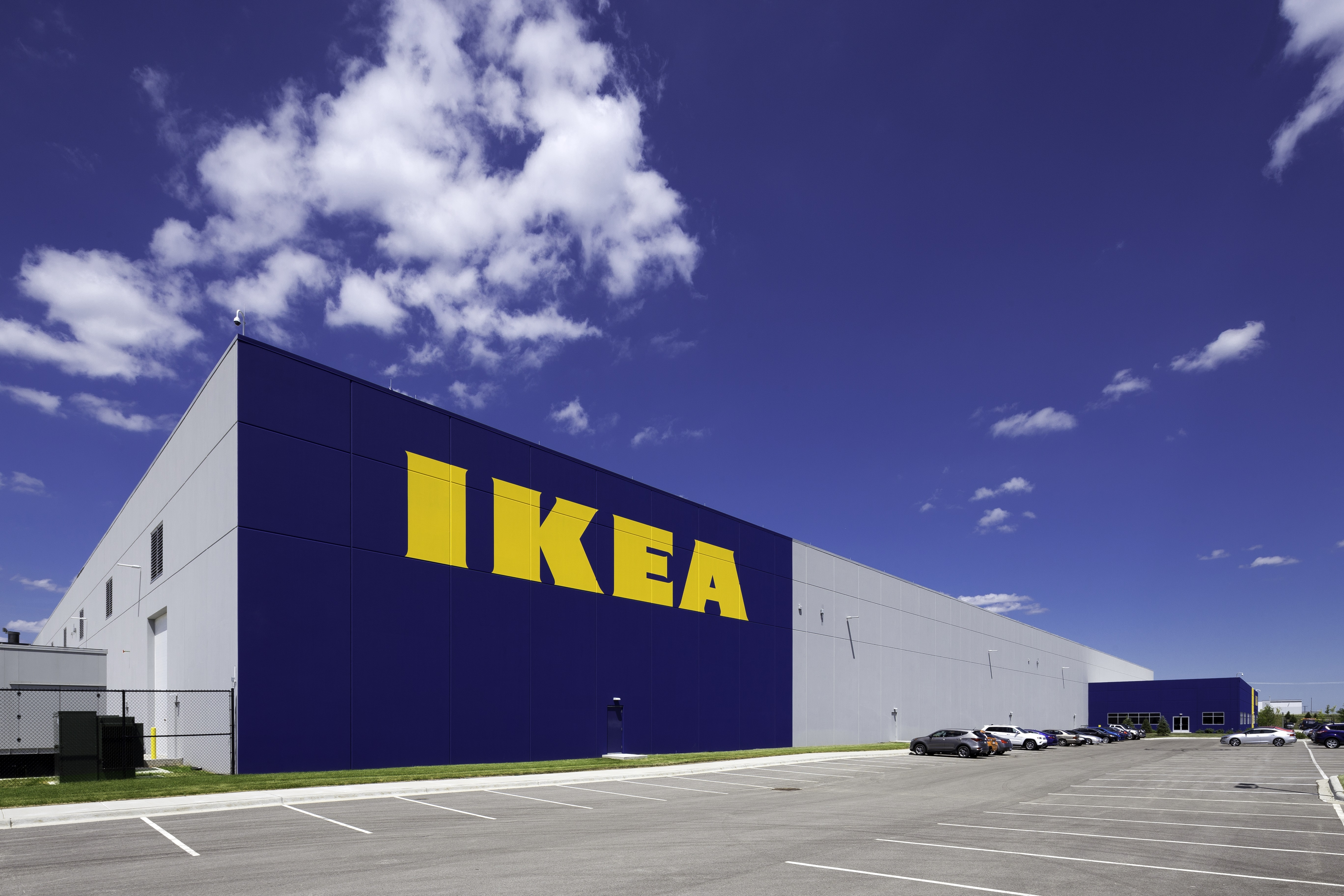 Ikea Distribution Center In Joliet Il Receives The Leadership In