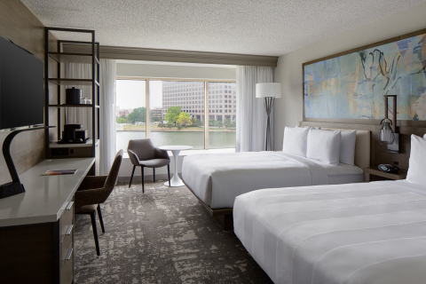 Dallas Marriott Las Colinas completes Phase I of complete renovation. Guest rooms are complete with Phase II scheduled to complete at the end of 2018. (Photo: Business Wire)