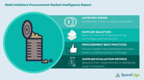 Global Mold Inhibitors Category - Procurement Market Intelligence Report. (Graphic: Business Wire)