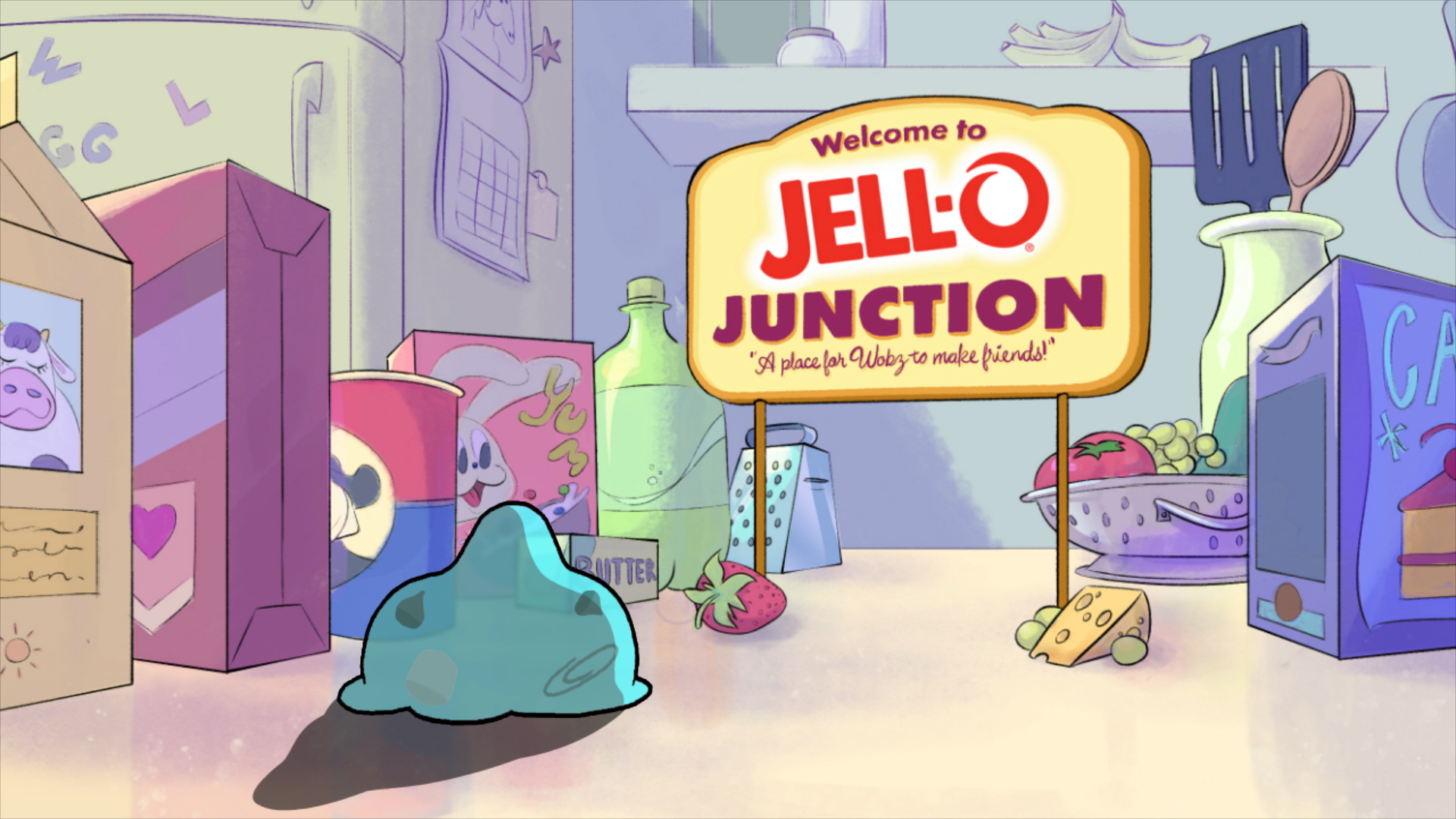 "JELL-O Play Unveils Animated Series: ""The JELL-O Wobz"