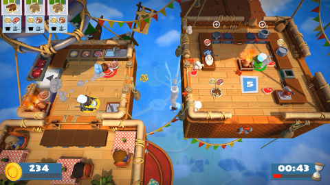 The Overcooked! 2 game will be available on Aug. 7. (Graphic: Business Wire)