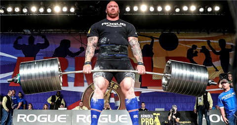 Hafthor 'The Mountain' Bjornsson World's Strongest Man (Photo - AETOSWire)