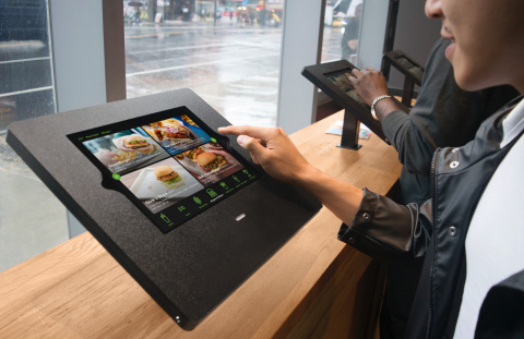 Shake Shack partnered with Fuzz to use the Square Reader SDK to power a self-service kiosk. (Photo: Business Wire)