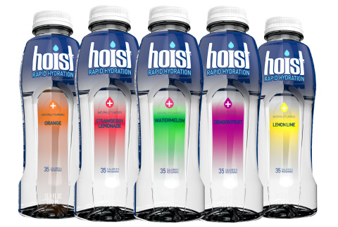 Hoist has the perfect blend of electrolytes, carbohydrates, and fluid for optimal absorption (Photo: Business Wire)