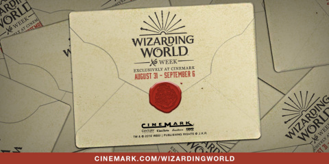 Wizarding World XD Week - See all 9 films in Cinemark XD for $5 per film or purchase a festival pass to see them all. (Photo: Business Wire)