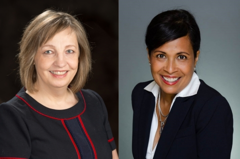 The NIRI Twin Cities Chapter has elected Co-Presidents Heide Erickson and Bernadette McCormick for the 2018-2019 Program Year. (Photo: Business Wire)