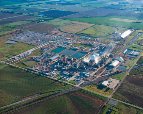 EFT Analytics is working with the Koch Fertilizer plant in Enid, Oklahoma to increase plant efficiencies. (Photo: Business Wire)