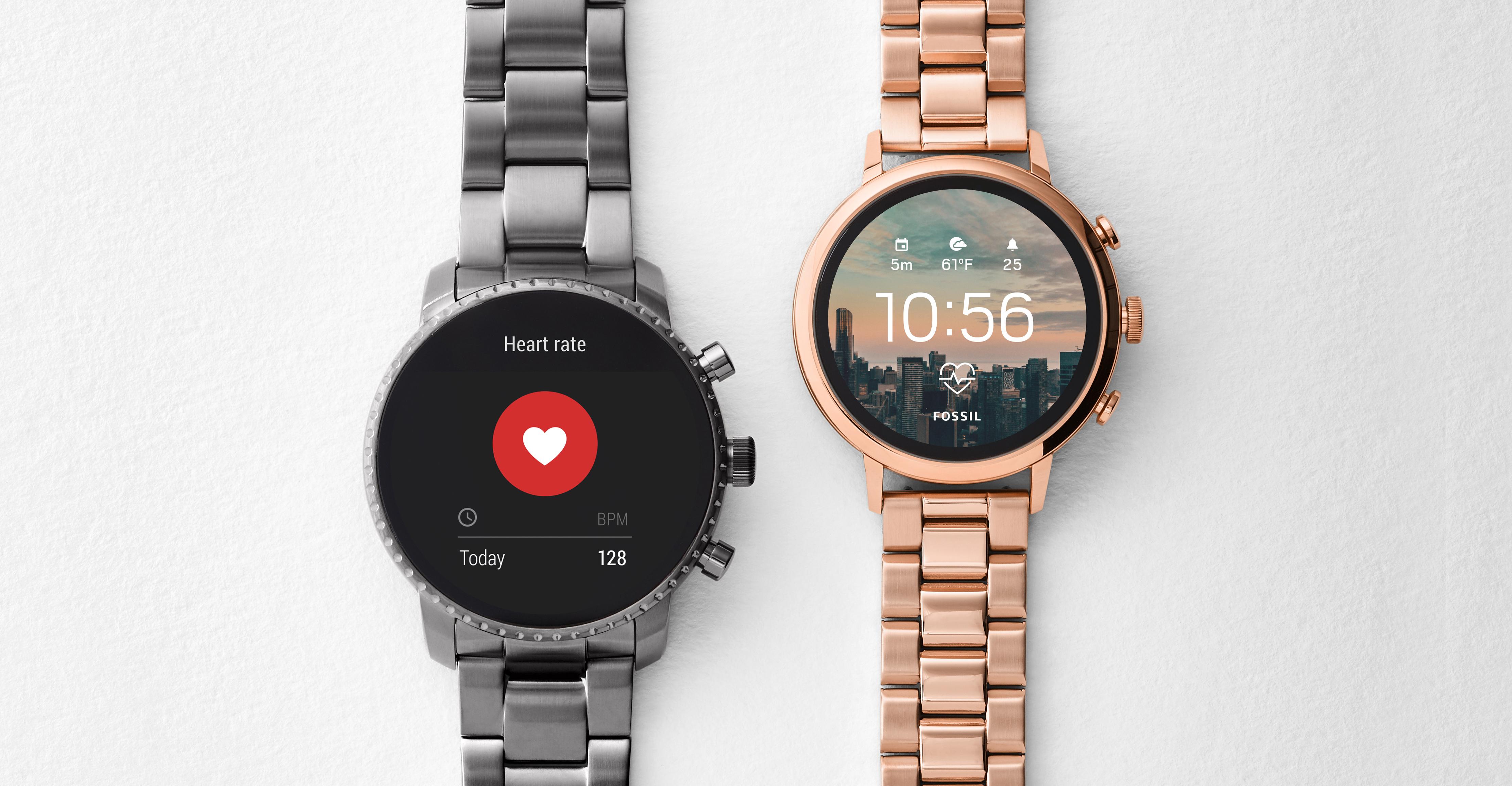 gran selección de b9eeb 3b41e Fossil desvela su smartwatch de pantalla táctil más ...