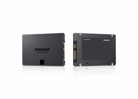 New Samsung 4TB Quad-level-cell SSD (Photo: Business Wire)