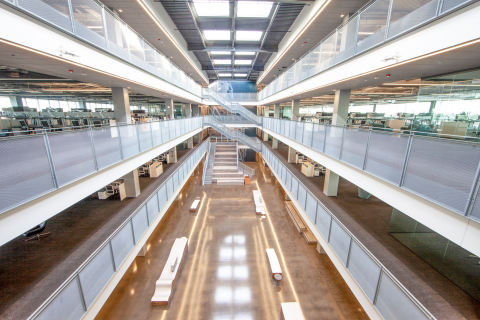 The new office space is more than double the size of the previous office at over 200,000 square feet. (Photo: Steve Miller)