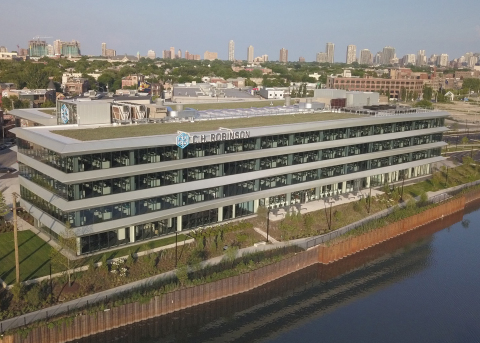 C.H. Robinson's flagship Chicago office is the first anchor tenant in the new Lincoln Yards developm ...