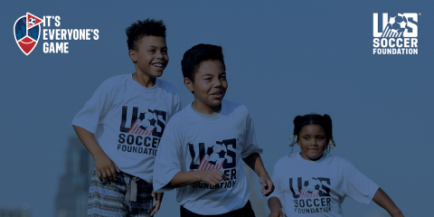 U.S. Soccer Foundation's It's Everyone's Game is a National Effort to Increase Access to Soccer Programming. (Photo: U.S. Soccer Foundation)