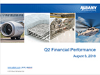 Albany International Reports Second-Quarter Results
