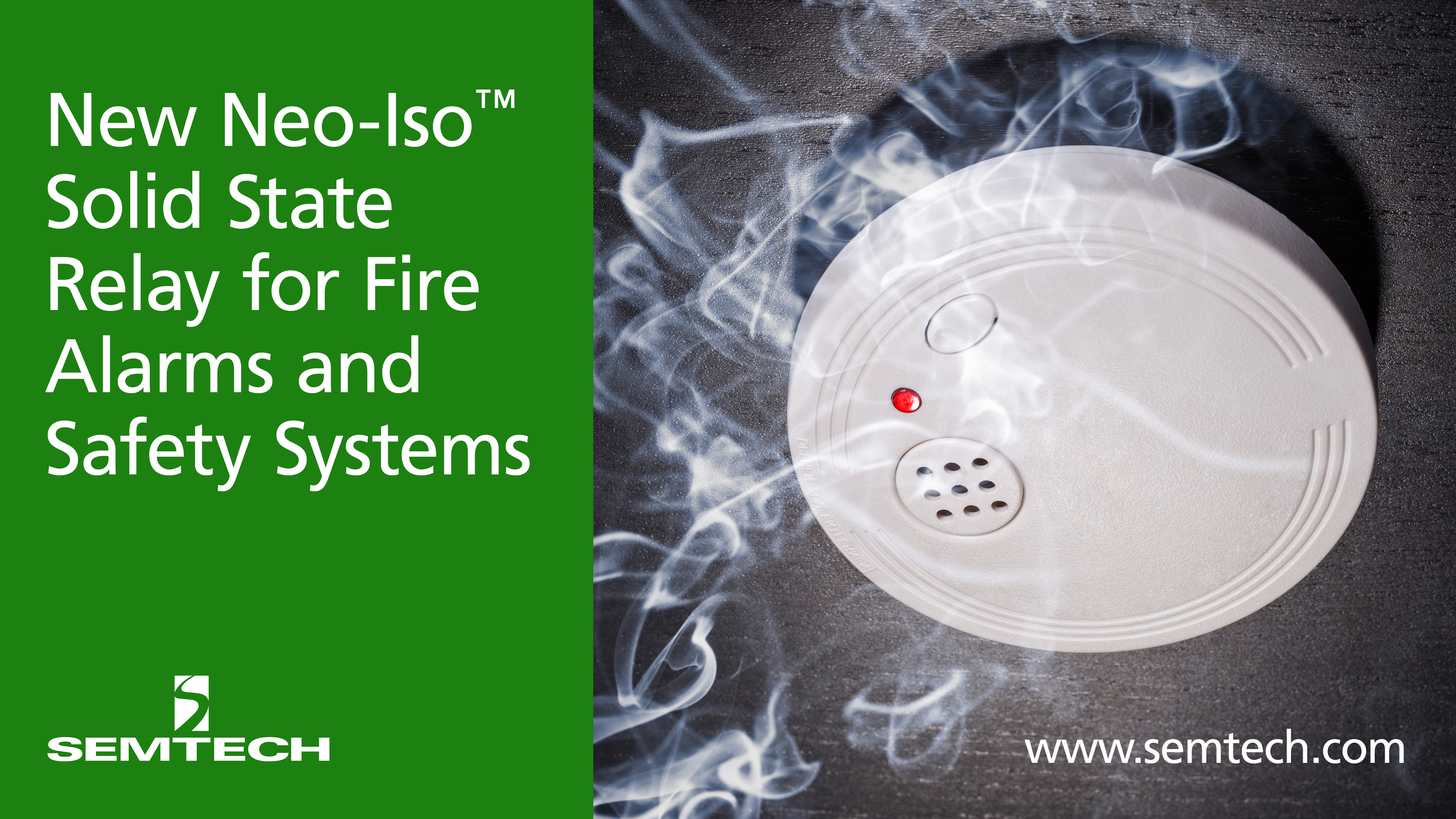 Semtech Releases New Neo Iso Solid State Relay For Fire Alarms And Opto 22 Safety Systems Business Wire