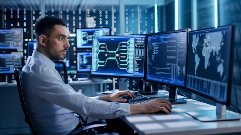 BAE Systems is developing automated cyber hunting solutions that combine advanced machine learning and cyber attack modeling to detect and defeat advanced cyber threats that currently can go undetected in large enterprise networks. (Photo: BAE Systems)