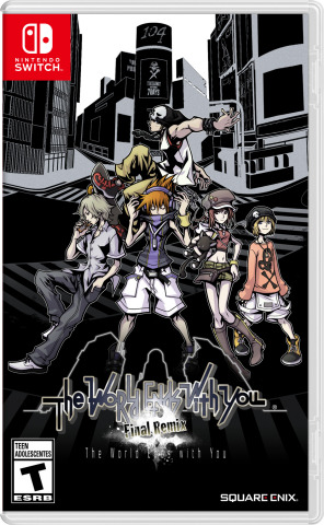 One of the most acclaimed portable games of the last 10 years is making its way to the Nintendo Switch system with HD visuals, enhanced gameplay and exclusive new content. The World Ends with You: Final Remix launches for Nintendo Switch on Oct. 12. (Photo: Business Wire)