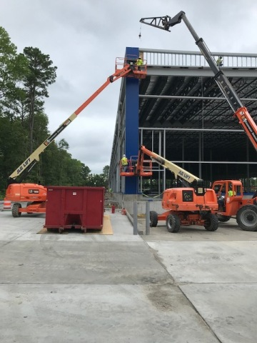 Iconic Blue Panels Shape Exterior of Future IKEA Norfolk as Construction Progresses on Second Virginia Store to Open Spring 2019 (Photo: Business Wire)