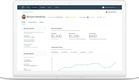 Centriam is a customer experience management software built for businesses of all sizes to better manage customer relationships. Launch company-wide CX programs powered by customer analytics in days versus months. (Photo: Business Wire)
