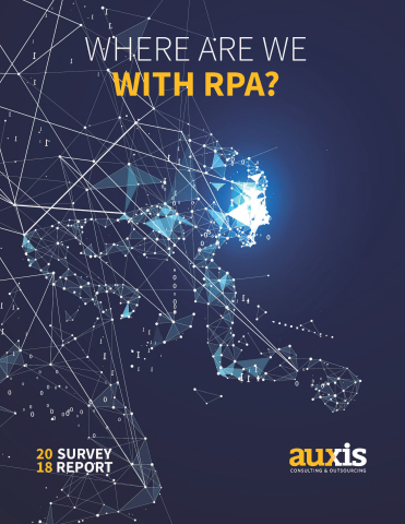 Where Are We With RPA? (Photo: Business Wire)
