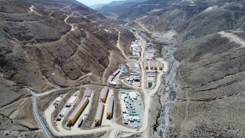 Anglo American's Quellaveco copper mine in the Moquegua region in the south of Peru (Graphic: Busine ...