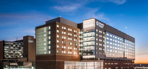 University Health System's main hospital in San Antonio, Texas, recently installed 17 Carestream imaging systems (Photo: Business Wire)