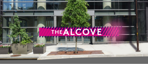 """""""The Alcove"""", located at the corner of 19th Street and North Moore Street in Rosslyn, Virginia. (Pho ..."""