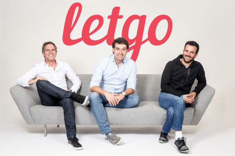 letgo cofounders (left to right) Alec Oxenford, Enrique Linares and Jordi Castello (Photo: Business Wire)