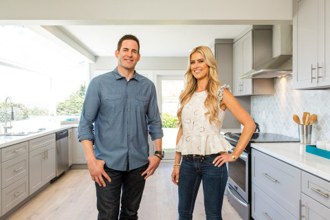 Tarek and Christina El Moussa of HGTV's 'Flip or Flop' (Photo: Business Wire)