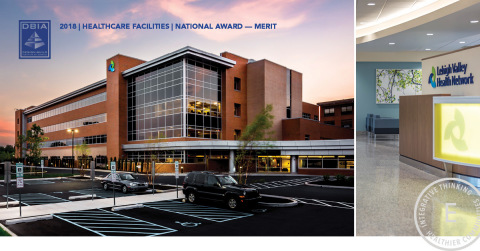 ERDMAN receives DBIA National Award of Merit in the Healthcare Facilities Category (Photo: Business Wire)
