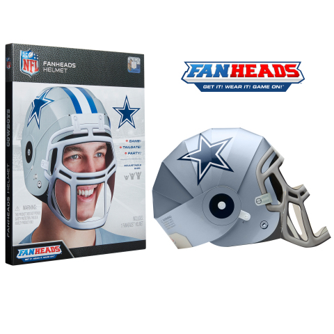 FanHeads - Dallas Cowboys (Graphic: Business Wire)