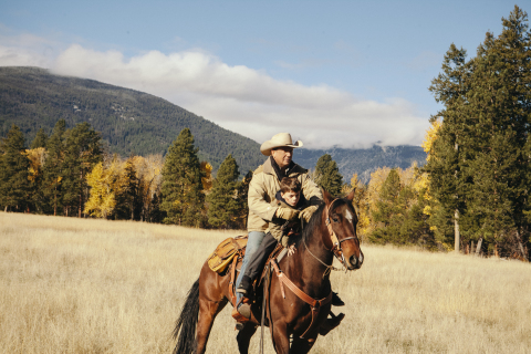 """Paramount Network's """"Yellowstone"""" is cable's most-watched scripted series of 2018 after """"The Walking Dead."""" (Credit: Paramount Network)"""