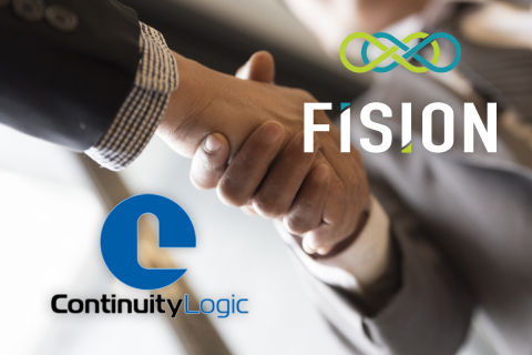 FISION and Continuity Logic Announce Entry into Merger Agreement (Graphic: Business Wire)