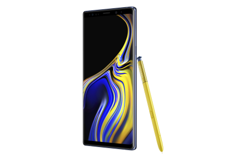 Samsung introduces the new, super powerful Galaxy Note9 with all day performance, a new S Pen and intelligent camera – for those who want it all (Photo: Business Wire)