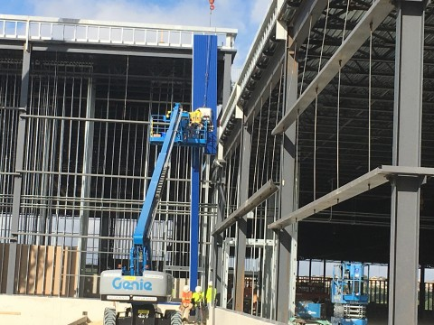 Iconic Blue Exterior Begins Transforming Future IKEA Live Oak as Work Progresses on the San Antonio-Area Store to Open Winter 2019 (Photo: Business Wire)