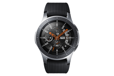 Samsung introduces the Galaxy Watch, a premium, powerful smartwatch with a long-lasting battery, wel ...