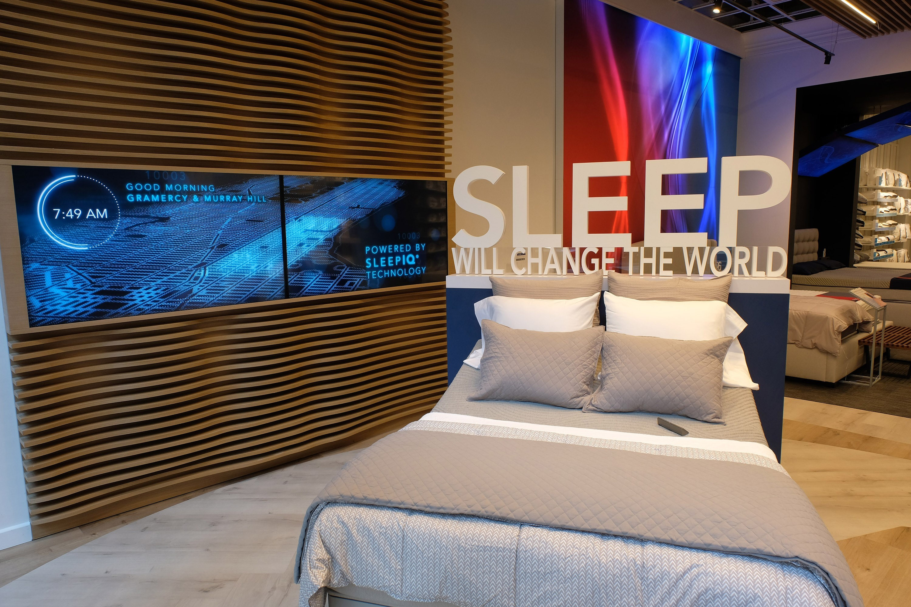 Sleep Number Disrupts Retail in the Flatiron District with