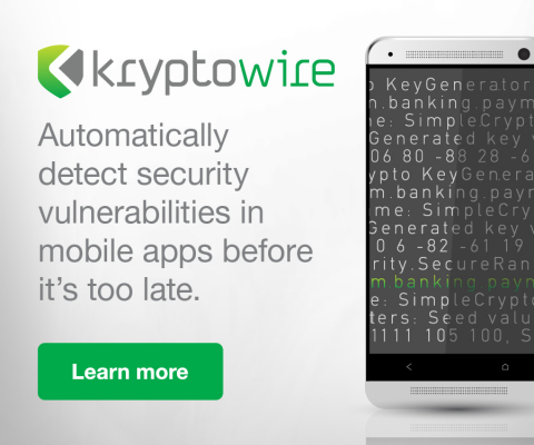 Kryptowire - Mobile and IoT Security (Graphic: Business Wire)