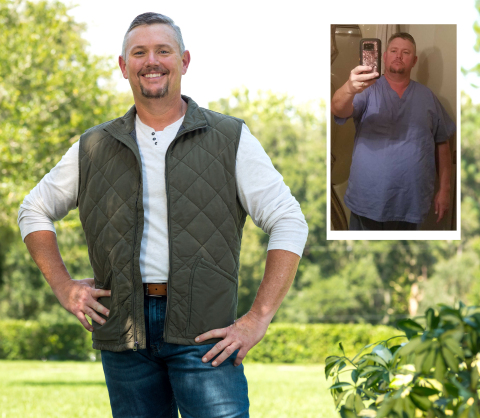Kevin Martin of Mabelvale, AR is a winner of the Nutrisystem $40,000 NutriStar Giveaway. Four winners collectively lost 264 pounds and were awarded $10,000 each, plus a trip to a Nutrisystem photo shoot in sunny Tampa, Florida.