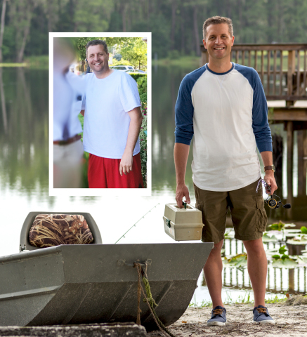 Mike Enger of Herriman, UT is a winner of the Nutrisystem $40,000 NutriStar Giveaway. Four winners collectively lost 264 pounds and were awarded $10,000 each, plus a trip to a Nutrisystem photo shoot in sunny Tampa, Florida.