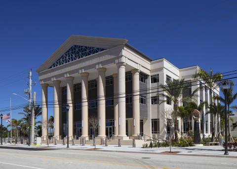 The Weitz Company's construction of the Fourth District Court of Appeal in West Palm Beach, Fla., ha ...
