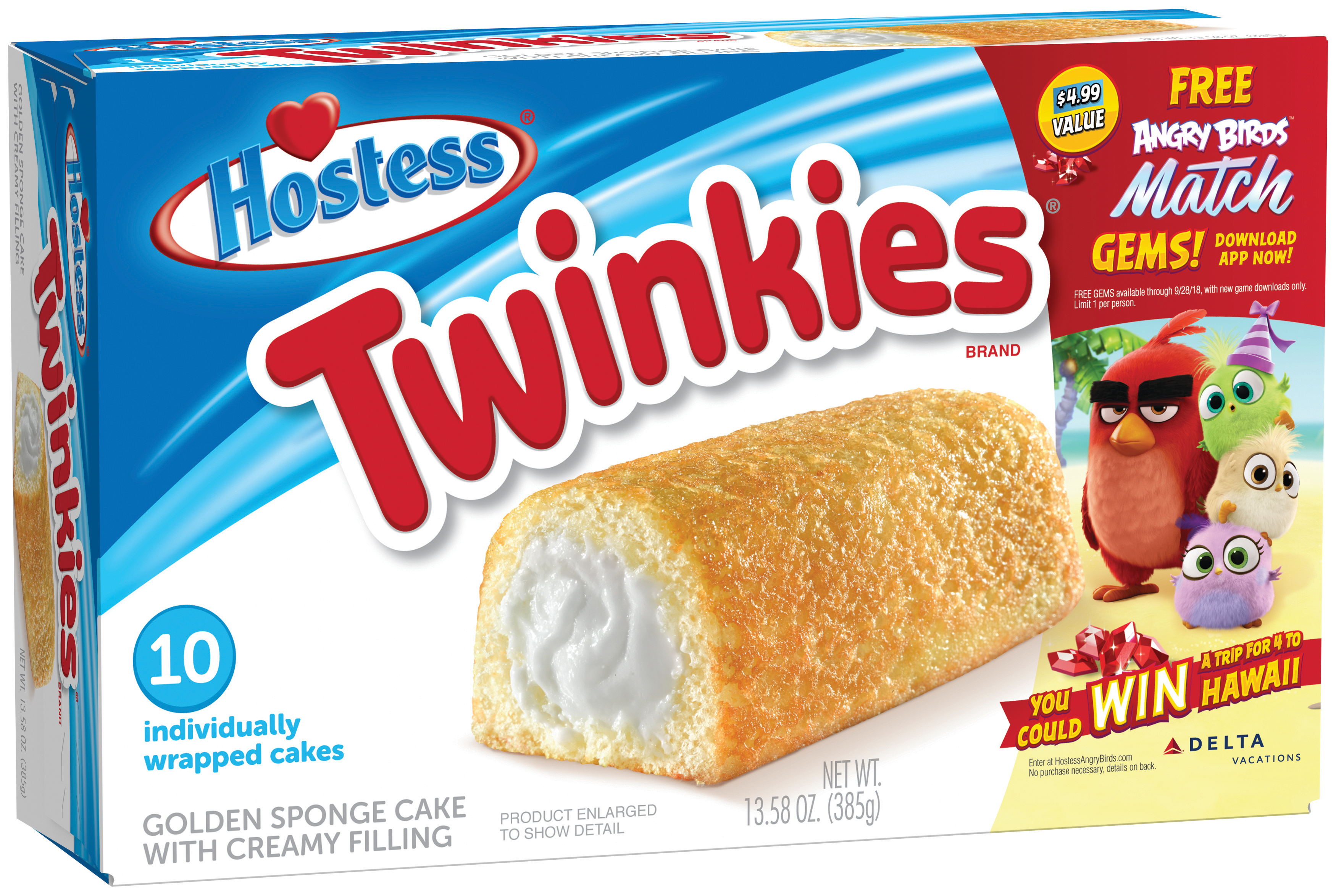 Hostess Brands Takes Flight with Angry Birds™ Promotion and